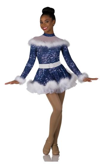 Click to Shop Blue Christmas Holiday Catalog Costume