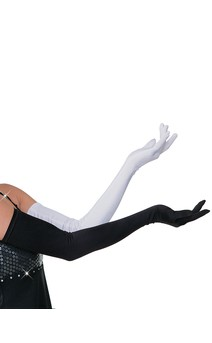 Click for more information about Long Spandex Gloves