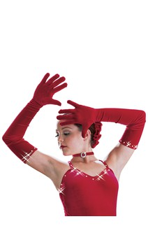 Click for more information about Diamond Velvet Gloves