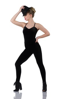 Click for more information about Black Velvet Unitard