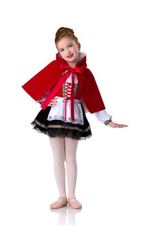 Click for more information about Red Hooded Cape