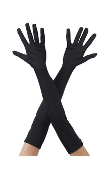 Click for more information about Long Gloves Black