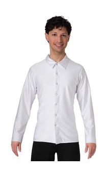 Click for more information about Men's Snap Front Spandex Shirt