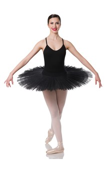 Click for more information about Professional Platter Tutu Black