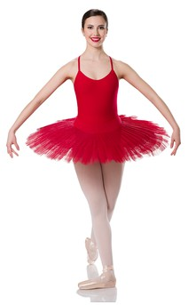 Click for more information about Professional Platter Tutu Red