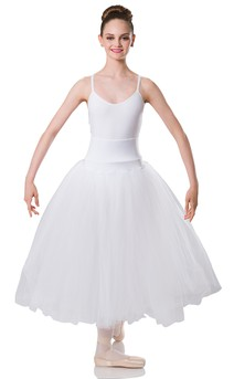 Click for more information about Long Romantic White Skirt
