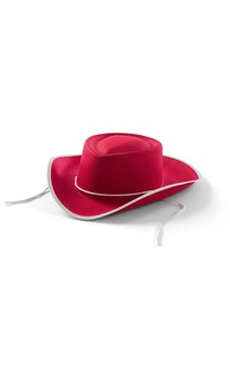 Click for more information about Red Cowboy Hat