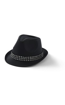 Click for more information about Faux Rhinestone Fedora