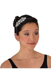 Click for more information about Aurora Borealis Rhinestone Flower Headband