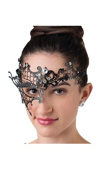 Click for more information about Filigree Half Mask