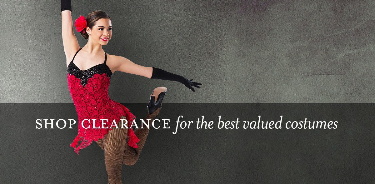 Clearance Dance Costumes